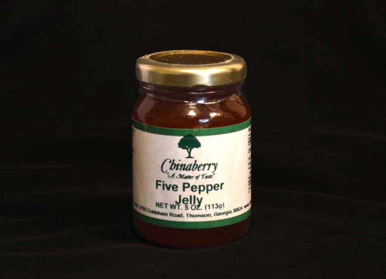 Five pepper jelly