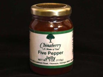 Five pepper jelly