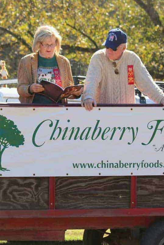 Chinaberry Foods display